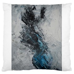 Ghostly Fog Large Flano Cushion Cases (one Side)