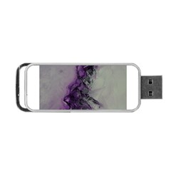 The Power Of Purple Portable Usb Flash (one Side)
