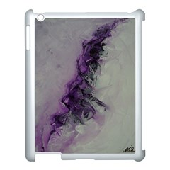 The Power Of Purple Apple Ipad 3/4 Case (white) by timelessartoncanvas