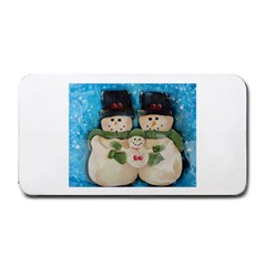 Snowman Family Medium Bar Mats by timelessartoncanvas