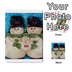 Snowman Family Multi-purpose Cards (Rectangle)  by timelessartoncanvas