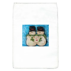 Snowman Family Flap Covers (l)  by timelessartoncanvas