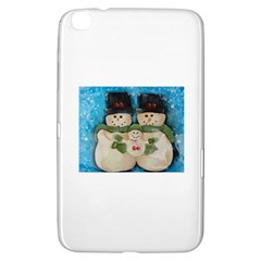 Snowman Family Samsung Galaxy Tab 3 (8 ) T3100 Hardshell Case  by timelessartoncanvas