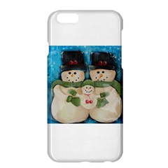 Snowman Family Apple Iphone 6 Plus Hardshell Case by timelessartoncanvas