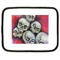 Halloween Skulls No 1 Netbook Case (xl)