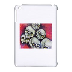 Halloween Skulls No.1 Apple iPad Mini Hardshell Case (Compatible with Smart Cover) by timelessartoncanvas