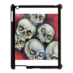 Halloween Skulls No 1 Apple Ipad 3/4 Case (black)
