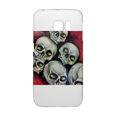 Halloween Skulls No 1 Galaxy S6 Edge