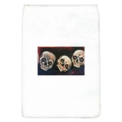 Halloween Skulls No  2 Flap Covers (l)  by timelessartoncanvas