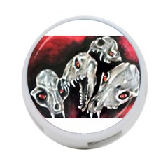 Halloween Skulls No  3 4 Port Usb Hub (one Side) by timelessartoncanvas