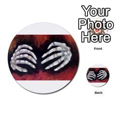 Halloween Bones Multi Purpose Cards (round)