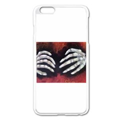 Halloween Bones Apple Iphone 6 Plus Enamel White Case