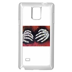 Halloween Bones Samsung Galaxy Note 4 Case (white) by timelessartoncanvas