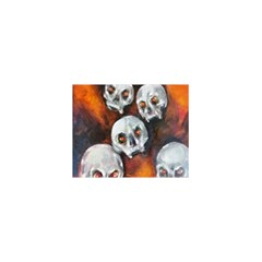 Halloween Skulls No  4 5 5  X 8 5  Notebooks by timelessartoncanvas