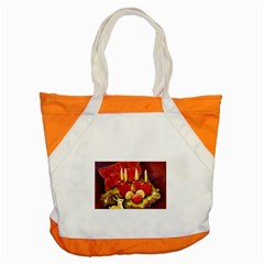 Holiday Candles  Accent Tote Bag  by timelessartoncanvas
