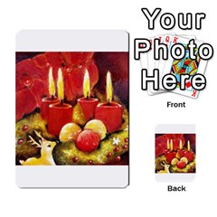 Holiday Candles  Multi Purpose Cards (rectangle)