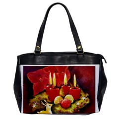 Holiday Candles  Office Handbags by timelessartoncanvas