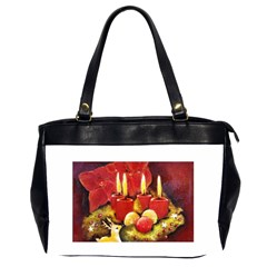 Holiday Candles  Office Handbags (2 Sides)  by timelessartoncanvas