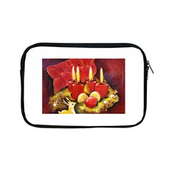 Holiday Candles  Apple Ipad Mini Zipper Cases by timelessartoncanvas