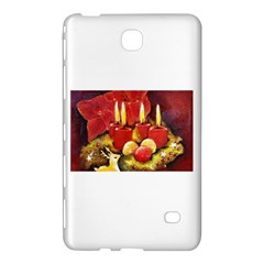 Holiday Candles  Samsung Galaxy Tab 4 (8 ) Hardshell Case  by timelessartoncanvas