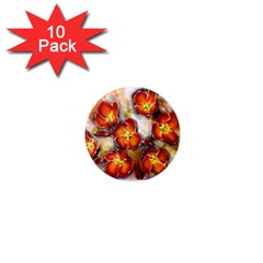 Fall Flowers 1  Mini Magnet (10 Pack)  by timelessartoncanvas