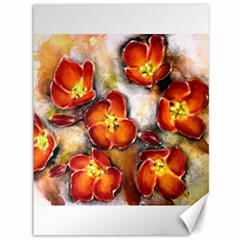 Fall Flowers Canvas 36  X 48   by timelessartoncanvas