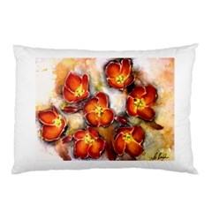 Fall Flowers Pillow Cases