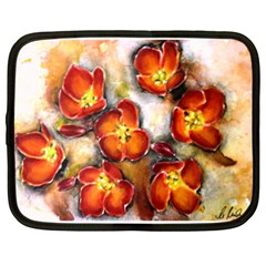 Fall Flowers Netbook Case (xl)  by timelessartoncanvas