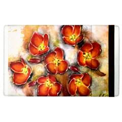 Fall Flowers Apple Ipad 3/4 Flip Case by timelessartoncanvas