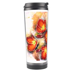 Fall Flowers Travel Tumblers