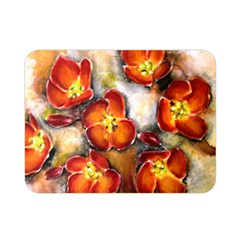 Fall Flowers Double Sided Flano Blanket (mini)  by timelessartoncanvas