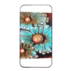 Fall Flowers No  2 Apple Iphone 4/4s Seamless Case (black)