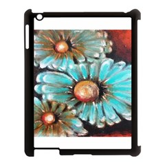 Fall Flowers No  2 Apple Ipad 3/4 Case (black) by timelessartoncanvas