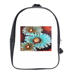 Fall Flowers No  2 School Bags (xl)  by timelessartoncanvas