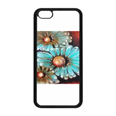 Fall Flowers No  2 Apple Iphone 5c Seamless Case (black) by timelessartoncanvas