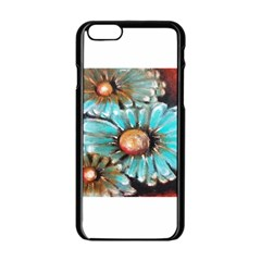 Fall Flowers No  2 Apple Iphone 6 Black Enamel Case by timelessartoncanvas