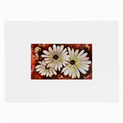 Fall Flowers No  3 Large Glasses Cloth by timelessartoncanvas