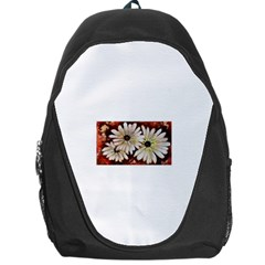 Fall Flowers No  3 Backpack Bag by timelessartoncanvas