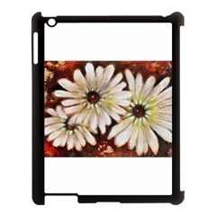 Fall Flowers No  3 Apple Ipad 3/4 Case (black) by timelessartoncanvas