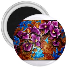 Fall Flowers No  5 3  Magnets by timelessartoncanvas