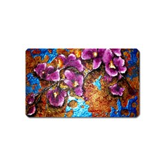 Fall Flowers No  5 Magnet (name Card) by timelessartoncanvas