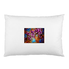 Fall Flowers No  5 Pillow Cases (two Sides) by timelessartoncanvas