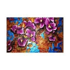 Fall Flowers No  5 You Are Invited 3d Greeting Card (8x4)