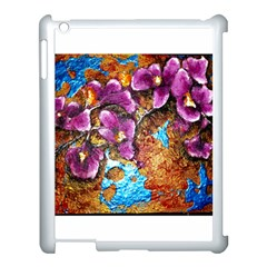 Fall Flowers No  5 Apple Ipad 3/4 Case (white) by timelessartoncanvas