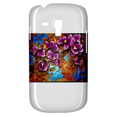 Fall Flowers No  5 Samsung Galaxy S3 Mini I8190 Hardshell Case by timelessartoncanvas