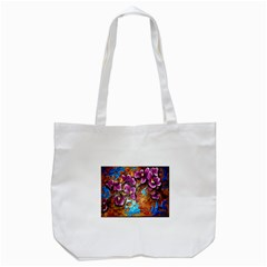 Fall Flowers No  5 Tote Bag (white)  by timelessartoncanvas