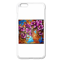 Fall Flowers No. 5 Apple iPhone 6 Plus Enamel White Case