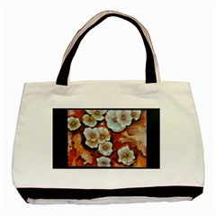 Fall Flowers No  6 Basic Tote Bag  by timelessartoncanvas