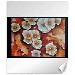 Fall Flowers No  6 Canvas 8  X 10  by timelessartoncanvas