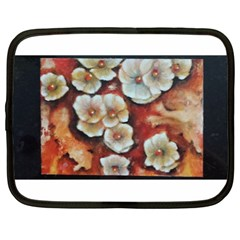 Fall Flowers No  6 Netbook Case (xl)  by timelessartoncanvas